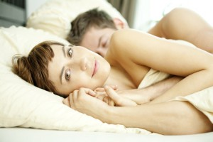 love couple bed